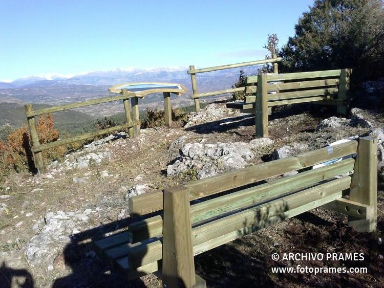Mirador del montsec montsec de l 39 estall for Mirador del pirineo